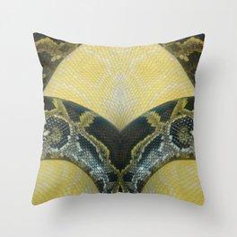 Boas Crossing Throw Pillow