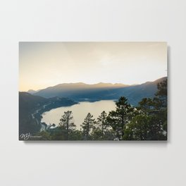 Howe Sound Sunset Metal Print