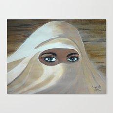 Her eyes  Canvas Print