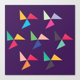 Colorful geometric pattern IV Canvas Print