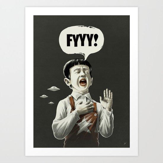 TESTI.FYYY! Art Print