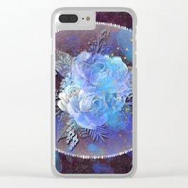 Galaxy Rose Clear iPhone Case
