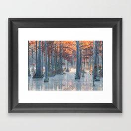 Adams Mill Pond 25 Framed Art Print