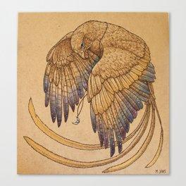 Lunar Falcon Canvas Print