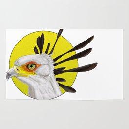 Secretary Bird Rug
