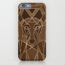 Art Deco Dachshund dog iPhone Case