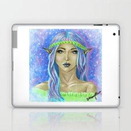 Mermaid inspired Fae Laptop & iPad Skin