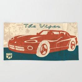 The Viper Beach Towel