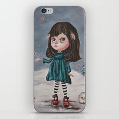 Harriette's Peppermint Wonderland iPhone & iPod Skin