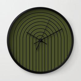 Minimalist Arch XII Wall Clock