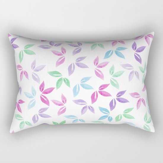 Flower Pattern VII Rectangular Pillow