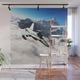 F-18 Hornet Wall Mural