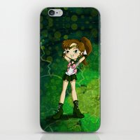 sailor jupiter iPhone & iPod Skins featuring Sailor Jupiter by Thedustyphoenix