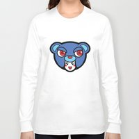 pagan Long Sleeve T-shirts featuring Pagan Blue by Pagan Holladay