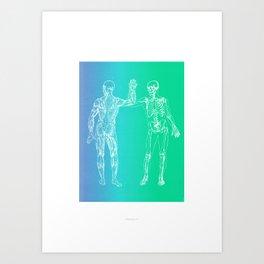 Gimme 5 Art Print