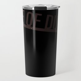 Mote of Dust Sunbeam Logo Travel Mug