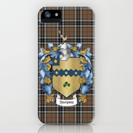 Thompson Crest and Tartan iPhone Case