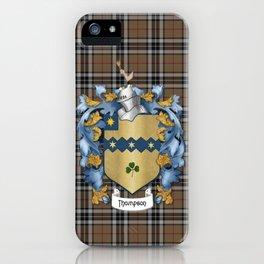 Thompson Crest and Tartan iPhone Case