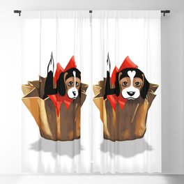 The Love Puppy — Chocolate Candy Blackout Curtain