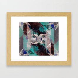 .connect. Framed Art Print