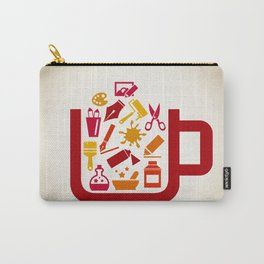 Art a cup Carry-All Pouch
