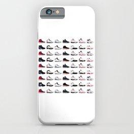 Air Jordan Series Collection 1-14 iPhone Case