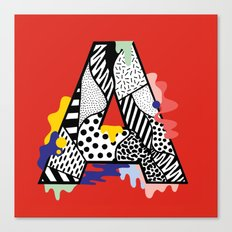 A for ….. Canvas Print