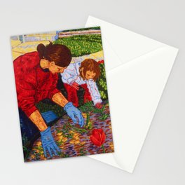 Tending the Garden Stationery Cards