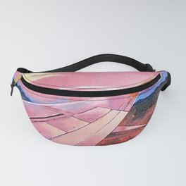 Wing in Sunset Fanny Pack