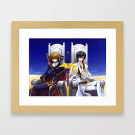 Code Geass Framed Art Print