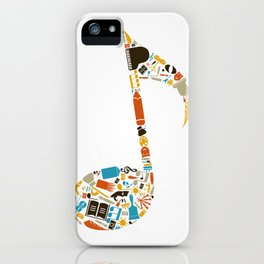 Art the note iPhone Case