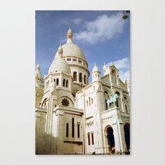 Sacre Coeur, Paris  Canvas Print
