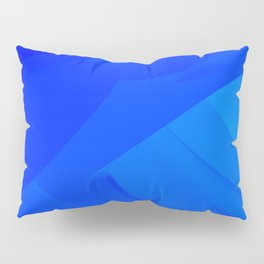 Dark Blue Backdrop Pillow Sham