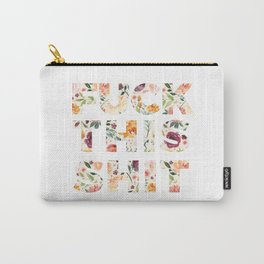 Flowery Language: Fuck This Shit Carry-All Pouch