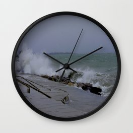 The Gale of Halloween '14 (Chicago Waves Collection) Wall Clock