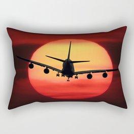 Emotions Fly Rectangular Pillow