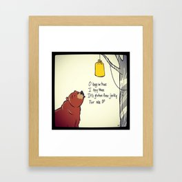 jerky Framed Art Print