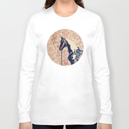 Vintage Horse  Long Sleeve T-shirt