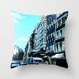 Days Long Past: Hotel de Castiglione Throw Pillow