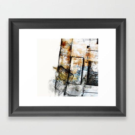 Aphasie II Framed Art Print