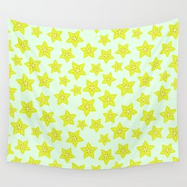 Star Fruit Wall Tapestry