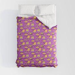 Constructon Trucks in Purple Comforters