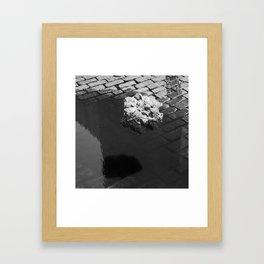 Floating Blob Framed Art Print