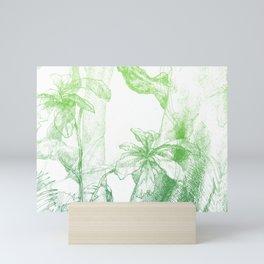 Amazonia (green) Mini Art Print