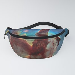 picture of star by hubble: pilliers of the creation. Fanny Pack