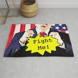 Fight Me! Rug