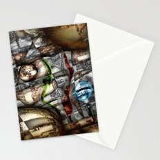 Textures of trials Stationery Cards