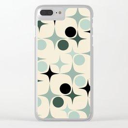 RETRO Pattern  #society6 #decor #buyart Clear iPhone Case