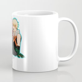 Heroes need down time too - Blue Border Coffee Mug