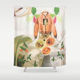 Propagation 1 Shower Curtain